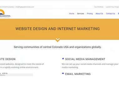 Website and Internet Marketing