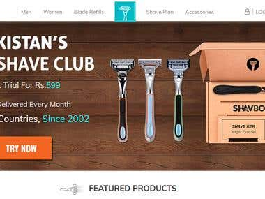 Shavbox Subscription website : https://www.shavebox.com/