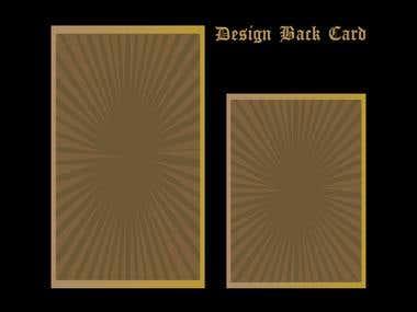 Creative back Card