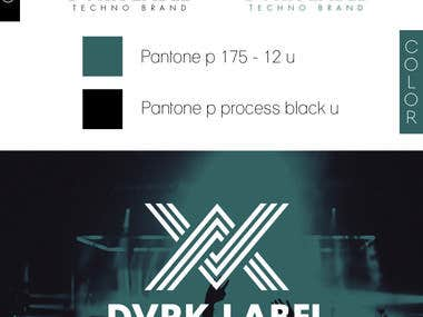 DARK LABEL LOGO