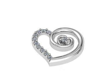 3D Jewelry Pendant