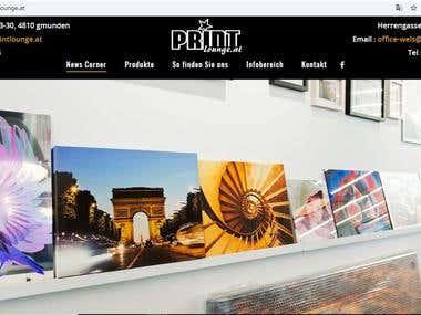 Printing Company / 3D Company Website