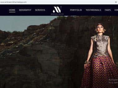 Fashion Designer Responsive Wordpress Website
