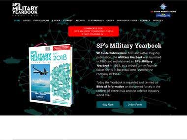 Military Cruise Books