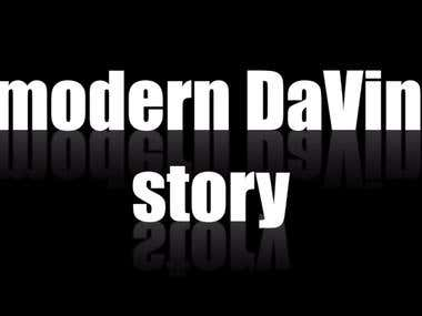 A modern DaVinci story video