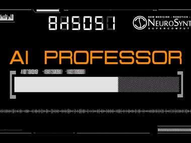 AI Professor video