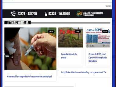 News portal / blog