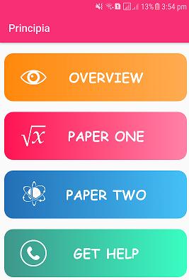 Android App - Principia Mathematica
