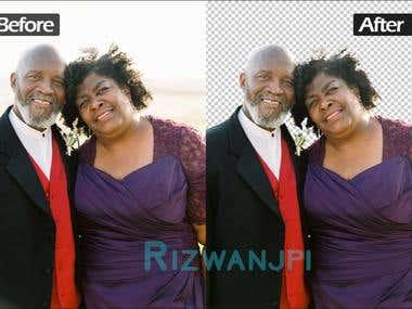 Headshot image editing