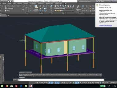 AUTOCAD 3D DRAWING