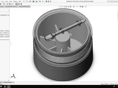 Modeling & Engineering Drawing from concept for 3D Printing
