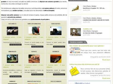 LIKAZ - Classified ads website for African