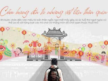 """Thu Vọng Nguyệt"" cultural events Banner"