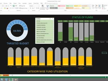 MS Excel Dashboards