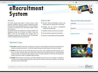eRecruitment System