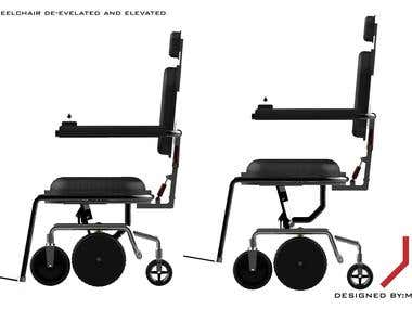Linear Actuated Motorize Wheel Chair
