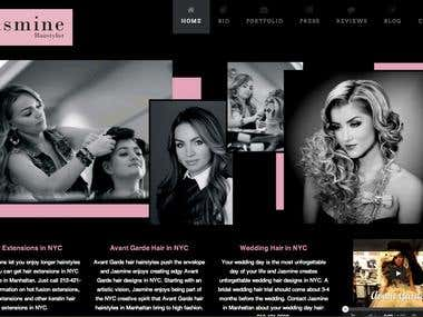Wordpress Hairstylist Website