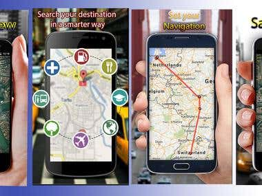 Fake GPS Android Application