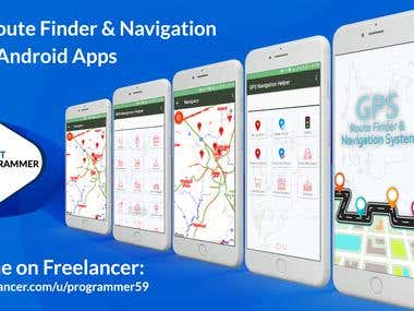 GPS Route Finder (Android Application)