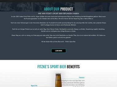 https://www.fitzkessportbier.de/ - Wordpress