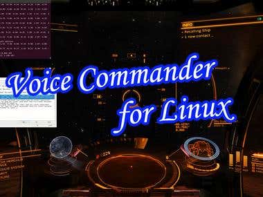 Voice Commander for Linux