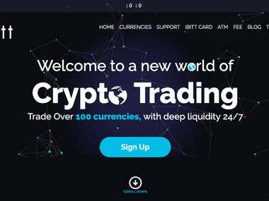 www.ibitt.com . crypto exchange