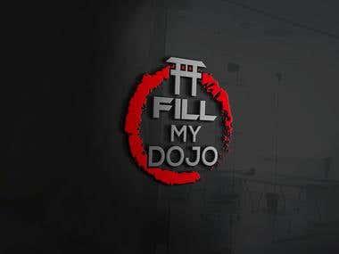 Fill My Dojo for Logo Design