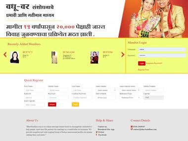 Matrimonial Website - https://bhavbandhan.com/