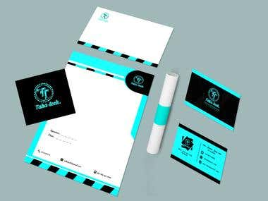 Taha-tech Branding Design