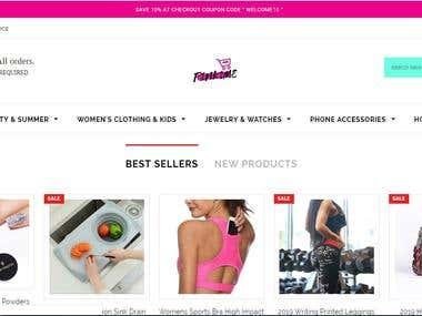 Pink2Me Online Shopping Website