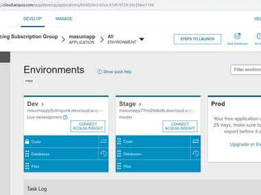 Acquia Cloud Setup