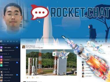 Rocket Chat Website