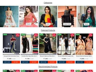 Online Fashion Store for Woman in india