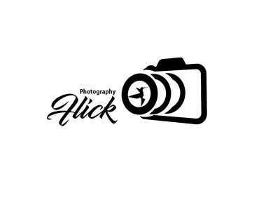 Flick photography logo design
