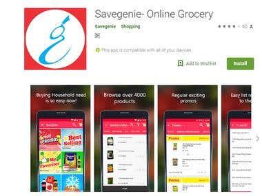 Savegenie- Online Grocery