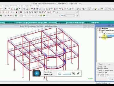 steel structure elevation