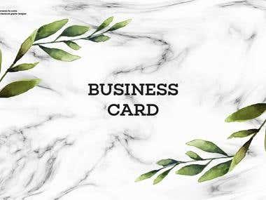 Portfolio business card # 1.