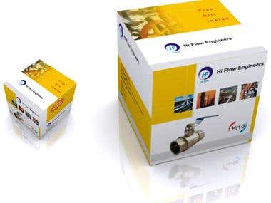 Box design and 3D mokcup