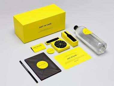 packaging design and 3D mokcup