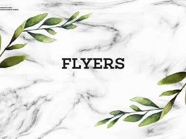 Portfolio Flyers # 1.
