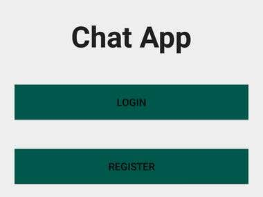 this program for chat application