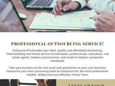 Outsourcing Service(s)