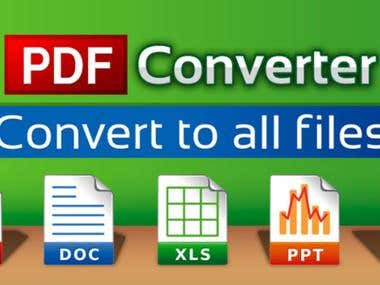 Convert PDF, Image file to Excel, Word