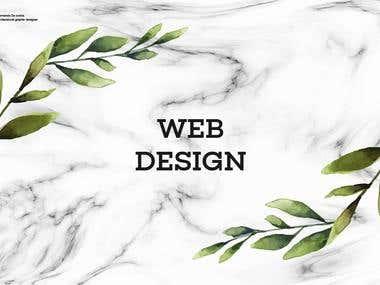 Portfolio web design #1.