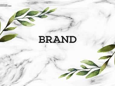 Branding portfolio #1.