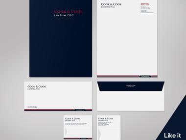 stationary & letterhead design