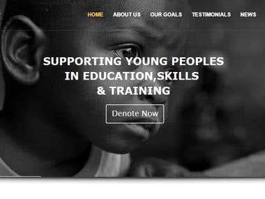 Charity Web Design