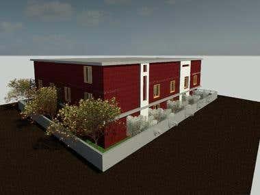 3 Story Building Design