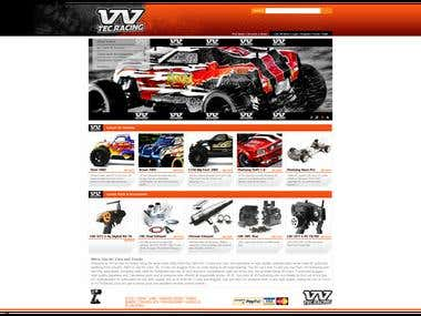 Online shop of RC nitro cars