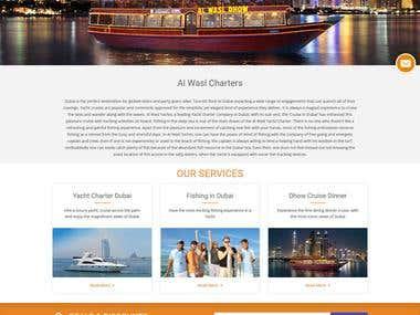 Wordpress- Website -CruiseinDubai